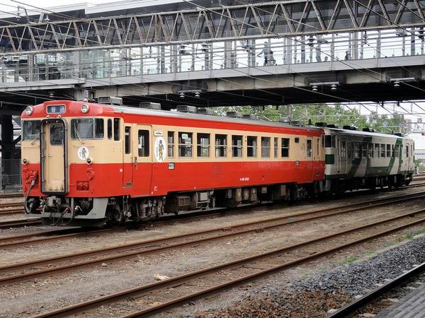 旧国鉄色のキハ40 1003