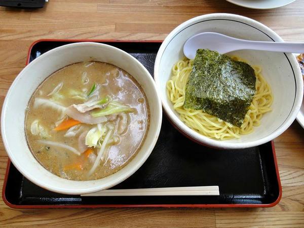 野菜つけめん(醤油) 700円