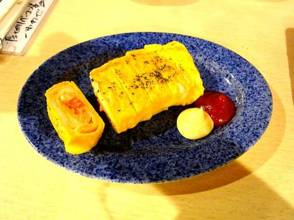 明太子クリームチーズ玉子焼き 680円