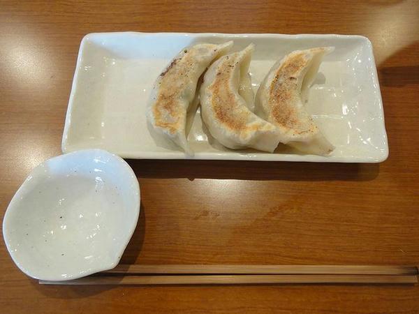 手作り餃子(3個) 280円