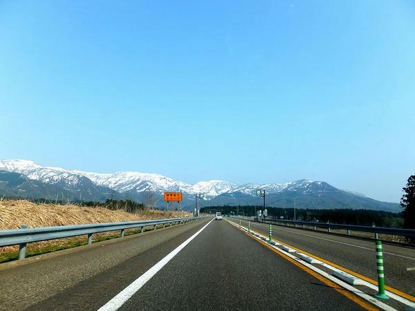 上信越道を北進