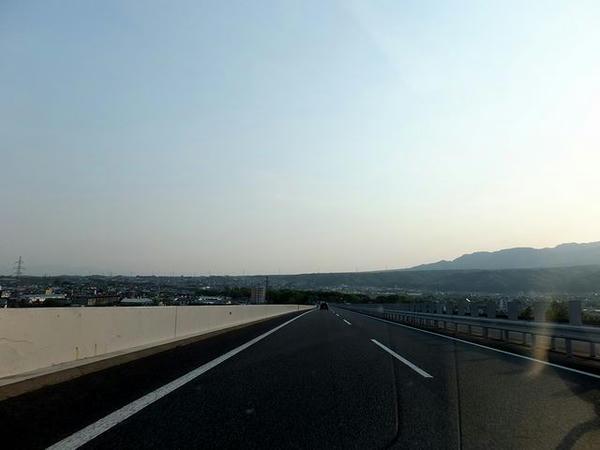 関東平野へと帰ってきました
