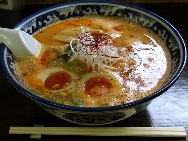 担炭麺 780円