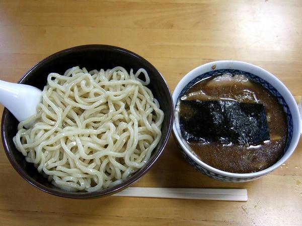つけ麺 750円 + 煮卵 100円