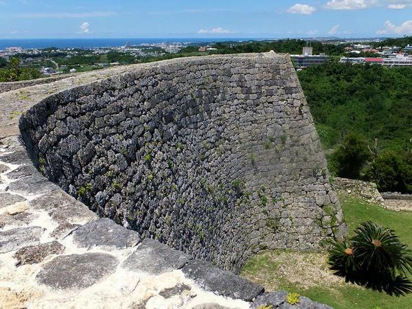 二の郭の城壁