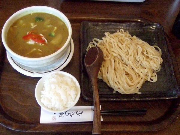 夏野菜のつけ麺(カレー風味) 840円