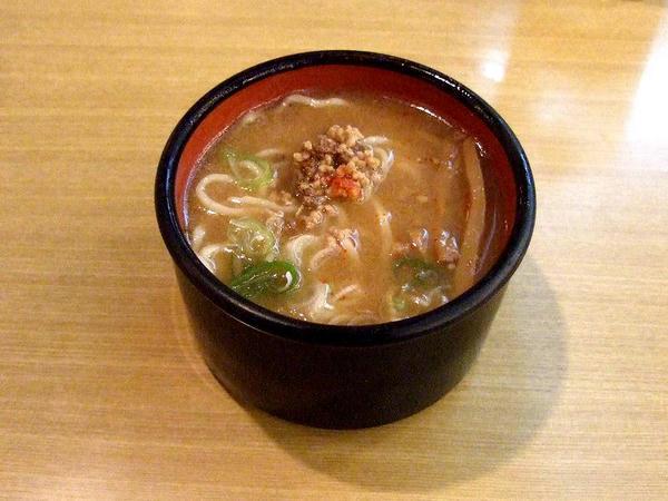 バイキングの料理(札幌椀子味噌ラーメン)