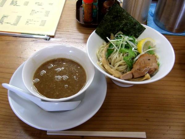 濃厚つけ麺 750円