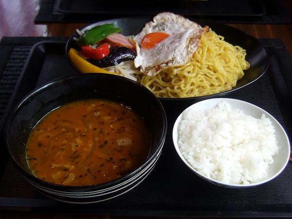 Bab流カレーつけ麺(ミックス) 950円