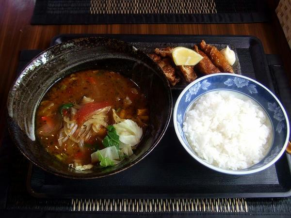 宇都宮スープカレー  780円