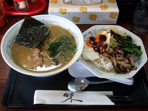 本日のランチ(ラーメン&ビビンバ) 730円
