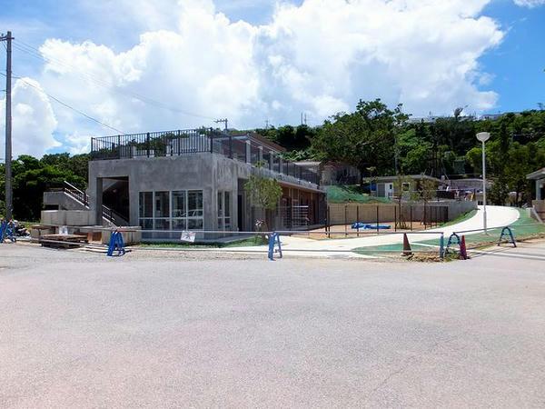 新設工事中の施設