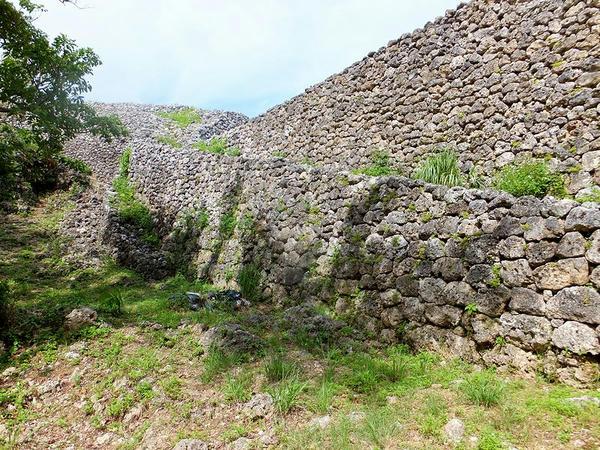 城壁の石積(1)
