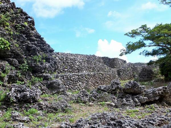 城壁の石積(3)