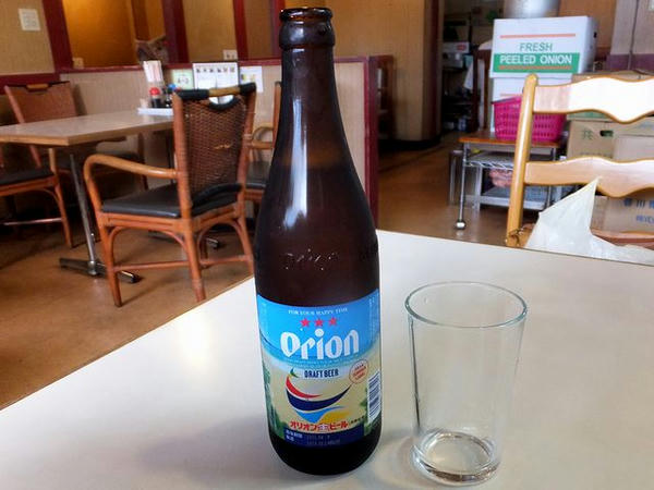 オリオンビール(瓶) 500円