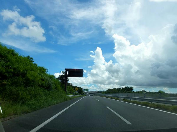 この旅最後の沖縄道