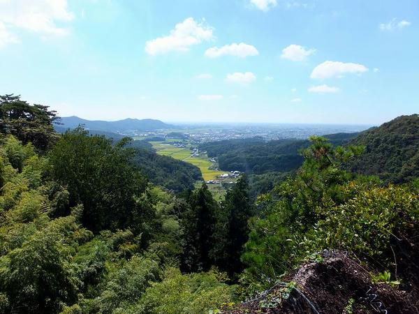 天狗岩から見た景色