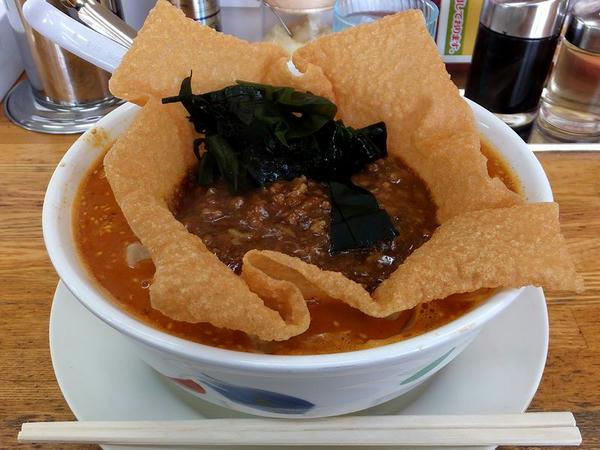 担々麺 830円 + 特製からしみそ(激辛) 120円