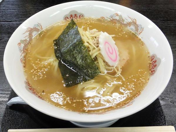 生姜らーめん(手もみ麺) 670円