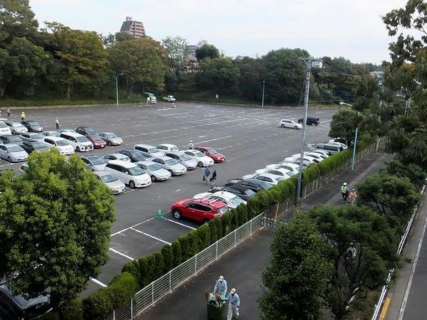 第2駐車場の様子