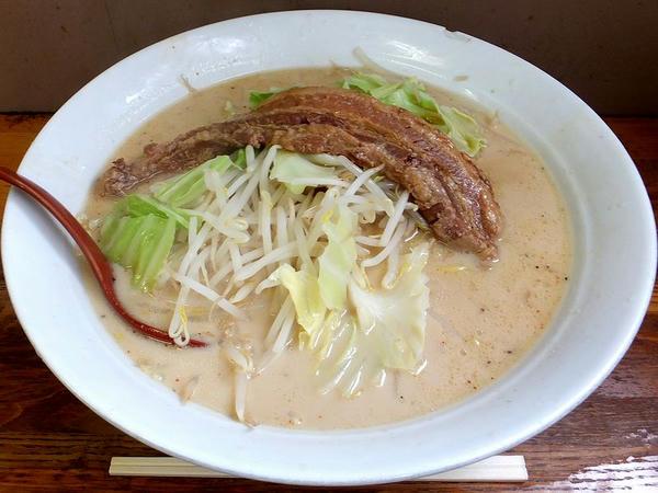 肉ミルクラーメン 1100円?