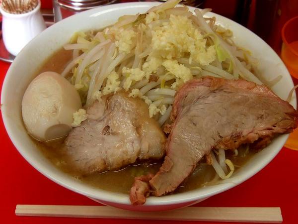 らーめん 700円 + 煮たまご80円