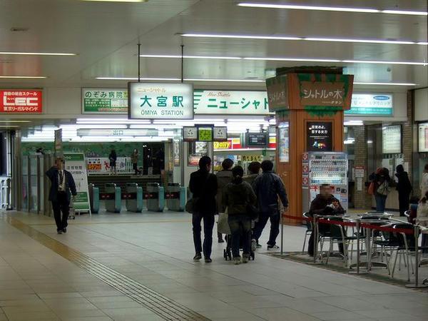 大宮駅ニューシャトル乗り場