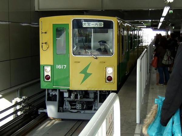 大宮駅に入線する1452B