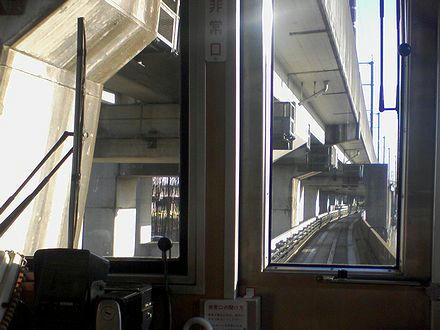 丸山駅進入(1)