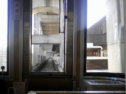 丸山駅進入(2)