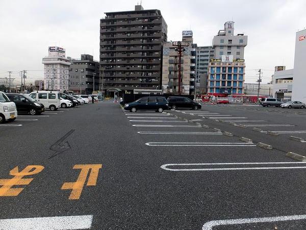 船橋競馬場駐車場
