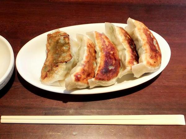しそ餃子(5個) 350円