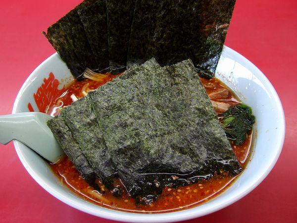 辛味噌ネギラーメン(味薄め・麺普通・脂普通) 790円 + 海苔増 100円