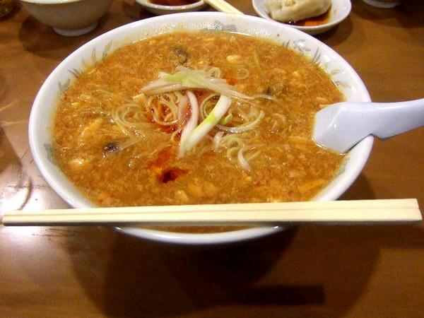 酸辣湯麺 800円