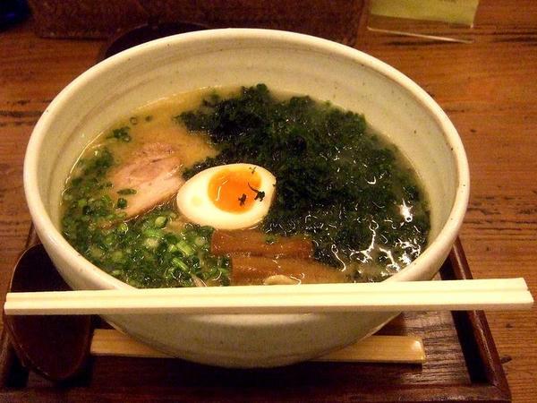 岩のり竹風麺 730円