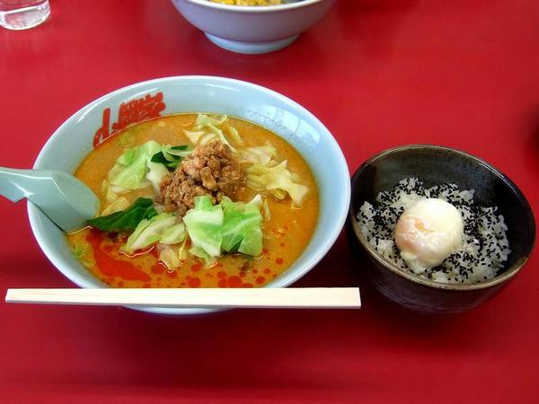 豚担Bセット【豚坦坦+特製温玉ごはん】(味普通・麺普通) 940円