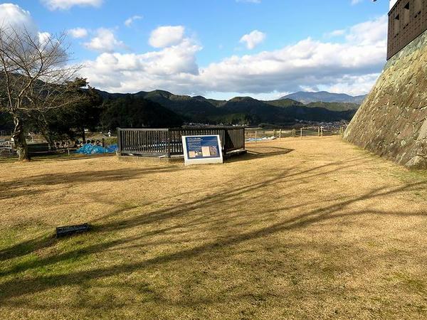 二の丸の玉櫓跡