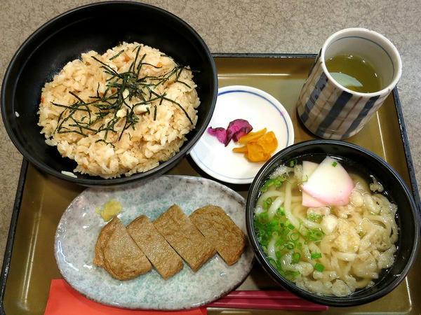 鯛めしセットA 1030円