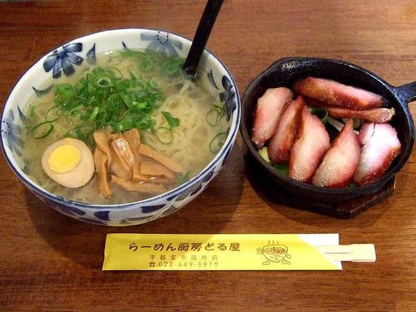 鯛だしほっぺた焼豚麺(塩) 800円