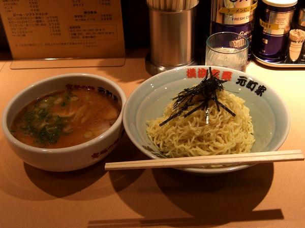 こってりスープつけそば(細麺) 780円