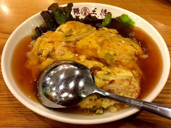 海老と蟹の玉子炒め 680円