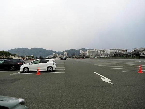 午前7時47分の第1駐車場A
