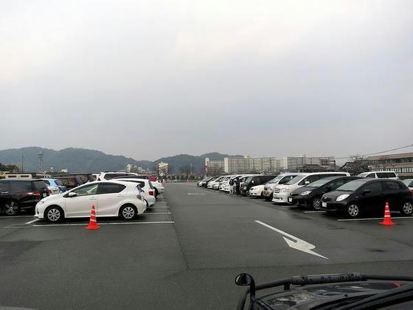 午前8時53分の第1駐車場A