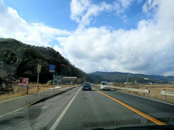 広島市に向け国道54号を走る