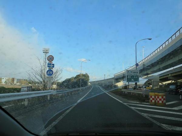 小倉南ICから九州道へ