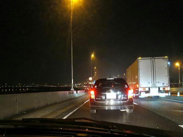 首都高渋滞中