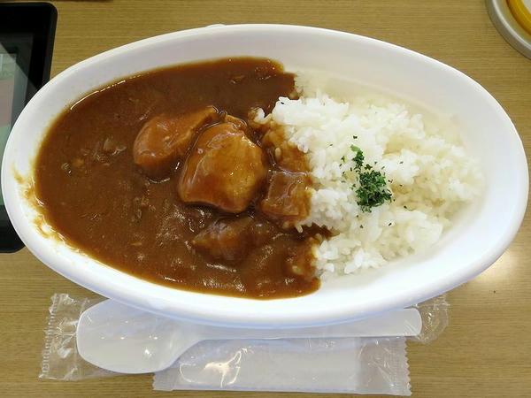 モナモナ・カレー 460円