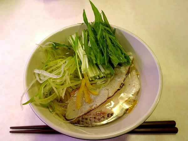 炙り真鯛の旨だしラーメン 380円(税抜き)