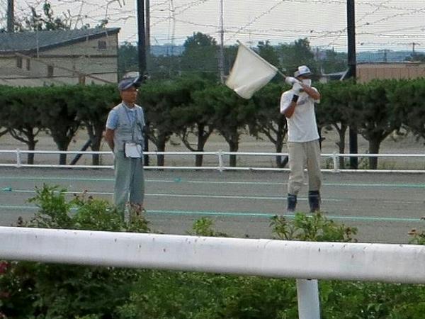 発走委員(第2レース)