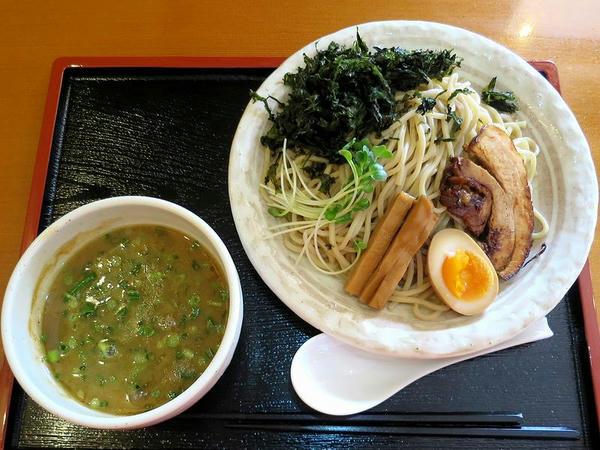 竹風つけ麺(中) 860円